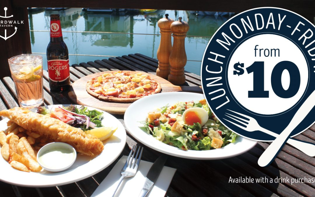 Boardwalk Tavern Lunch From $10